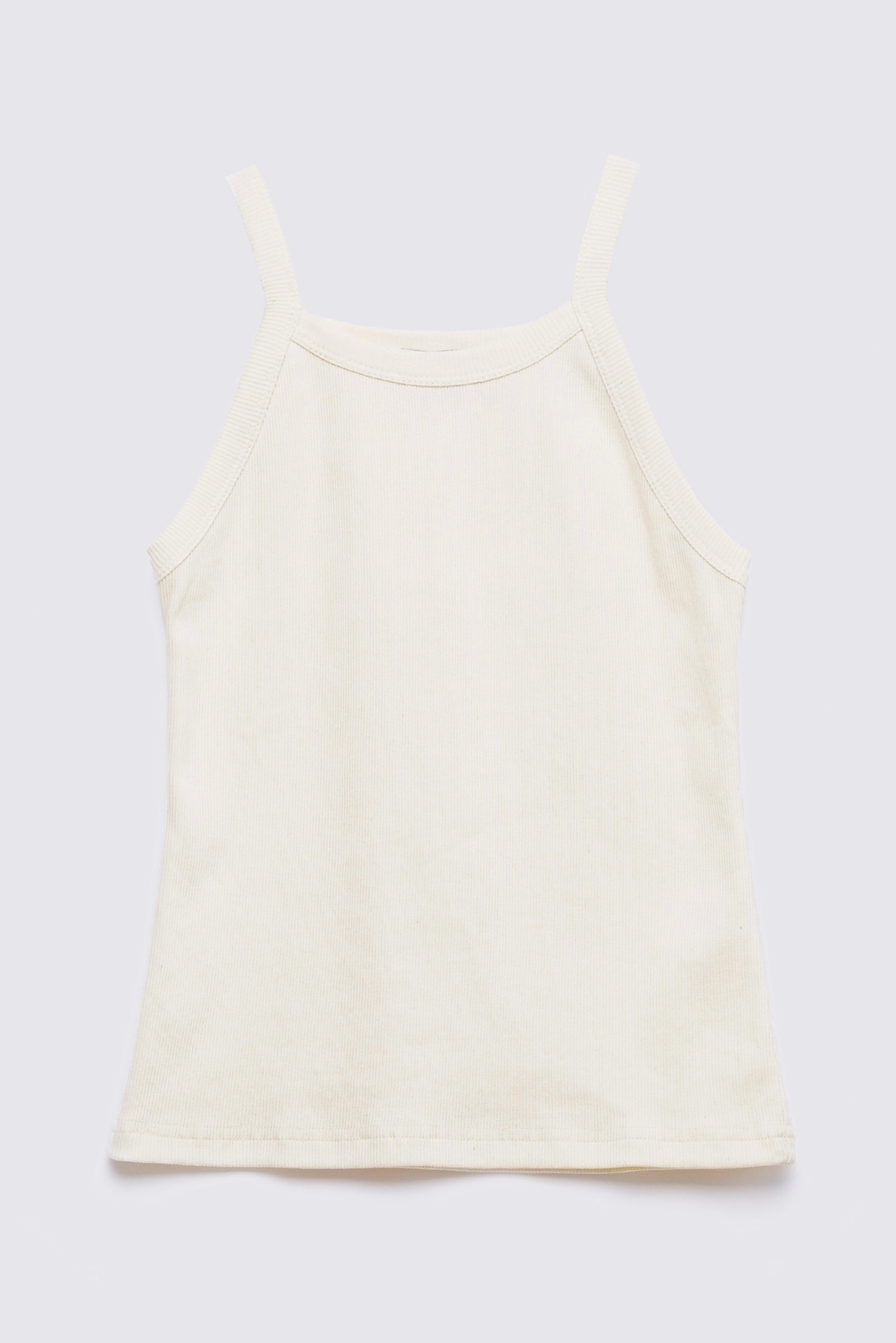 Tank top with thin straps, Milky, L