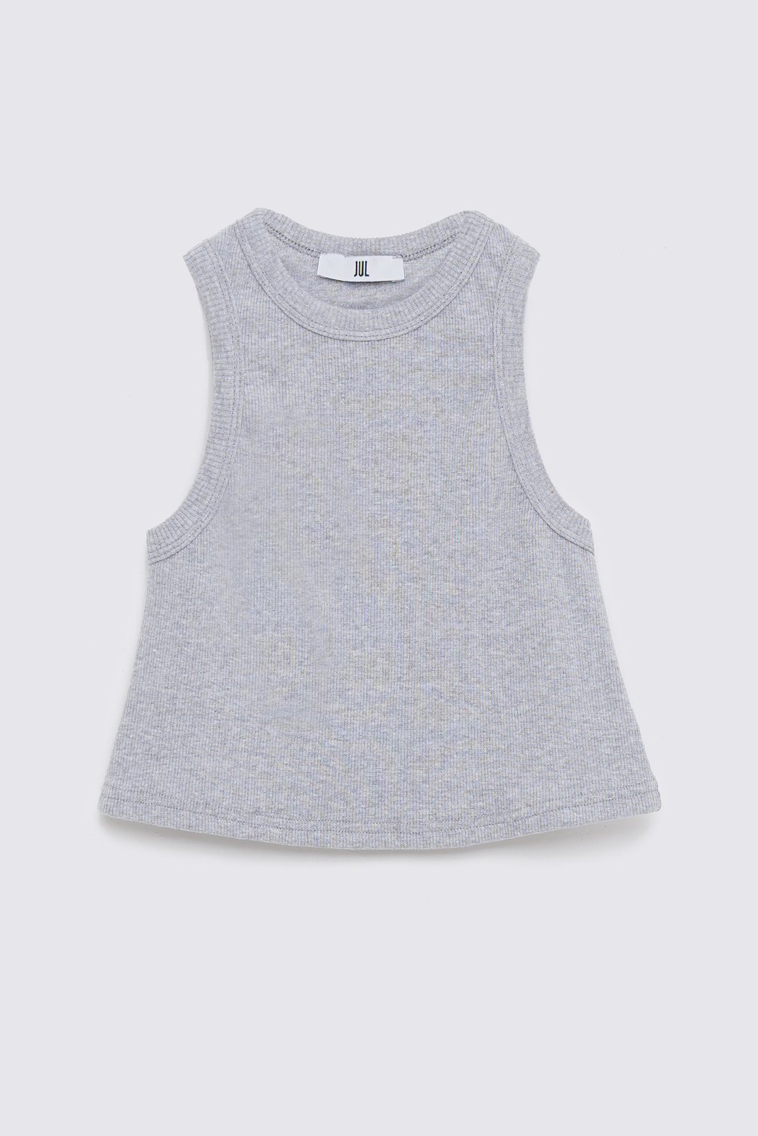 Basic shirt, Light gray melange, S